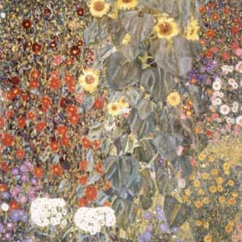 Sunflowers by Gustav Klimt Fine Art Print