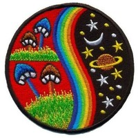 Psychedelic Space Patch