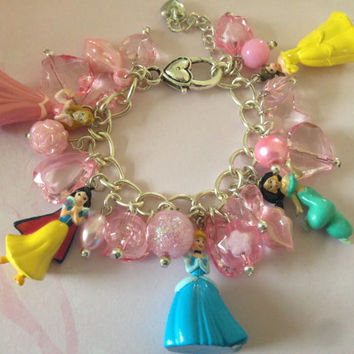 Childs Disney Princess Charm Bracelet