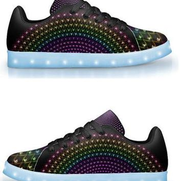 Sahasrara by Sam and Cate Farrand - APP Controlled Low Top LED Shoe