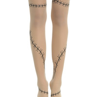 Blackheart Sheer Stitches Tights