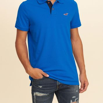 Guys Stretch Polo Shirt/hollister/