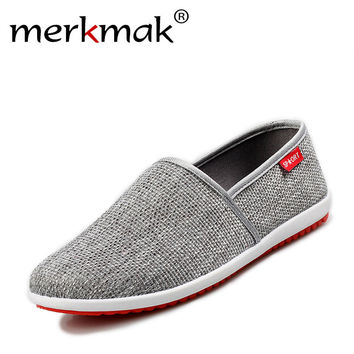 2017 New Breathable Men Hemp Summer Style Flat Shoes Fashion Loafers Knitted Light Soft Men Shoes Casual Man Footwear Eu 39-44
