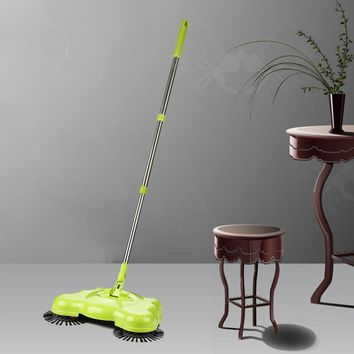 New Arrival 360 Rotary Home Use Crab Manual Telescopic Floor Dust Sweeper