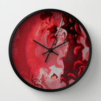Making Liquid Butterflies 2 Wall Clock by Art by Mel | Society6