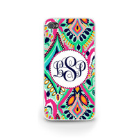 #LillyPulitzer Inspired, iPhone 6 Case, Monogrammed Phone Case, #iphone6, Personalized Phone Cover, also for Samsung and Blackberry - 0026