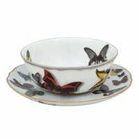 Christian Lacroix Butterfly Parade Consomme Cup & Saucer