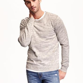 Old Navy Heathered Crew Neck Sweater