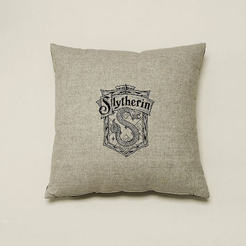 Harry Potter Four House Pillow Cover- 18 x 18 Pillow Cover