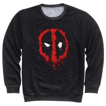 Deadpool Dead pool Taco Joyonly Children Fleece 3d Printed Sweatshirt Colorful Snake Crown Lion  Splatter Design Hoodies Boys Girls Kids Clothes AT_70_6