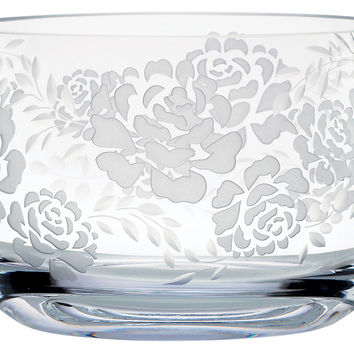 Marchesa Rose Crystal Bowl, Serving Bowls