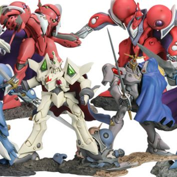 Kotobukiya The Vision of Escaflowne One Coin Grande Collection 8+1 Secret 9 Trading Collection Figure Set