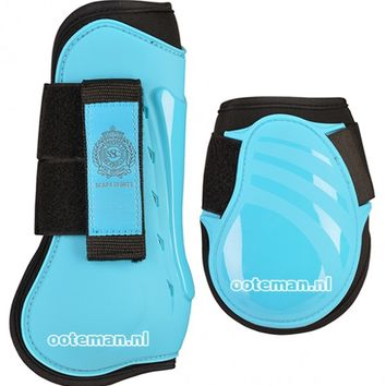 Scapa Leg Protection Set Blue Atoll   Ooteman Equestrian