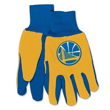 Golden State Warriors Two Tone Utility Gloves