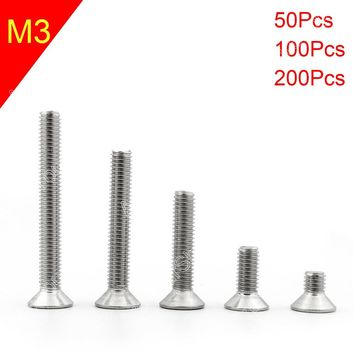 Allen Hex Socket Countersunk Flat Head Screws