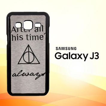 After all this time always quote harry potter  Samsung Galaxy J3 Edition 2015 SM-J300 Case