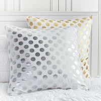 Metallic Dot Euro Sham