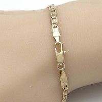 Gold Layered Women Mariner Basic Bracelet, by Folks Jewelry