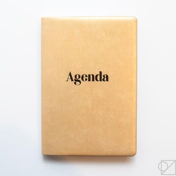 DELFONICS 2017 Gold Pocket Agenda