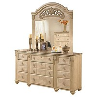 Saveaha Dresser and Mirror