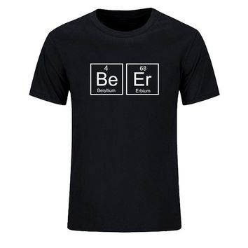 Beer - Periodic Table T-Shirts - Men's Top Tee
