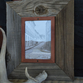 Barnwood Picture Frame - 5 x 7