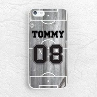 Custom Name and number wood print Phone Case for iPhone Sony z1 z2 z3, LG g2 g3, Moto X Moto G, HTC one m8 personalized jersey football case