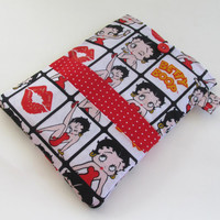 "iPad Case / 1930s Cartoon / Galaxy Tab Case / Pin Up Sleeve / 10"" Tablet Case / iPad Case / iPad Cover / Pop Up Shop"