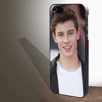 "Shawn Mendes smile for iphone 4/4s/5/5s/5c/6/6+, Samsung S3/S4/S5/S6, iPad 2/3/4/Air/Mini, iPod 4/5, Samsung Note 3/4 Case ""005"""