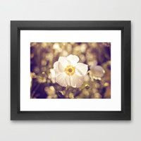 My One and Only Framed Art Print by Dena Brender Photography