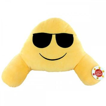 Emoticon Character Plush Armrest Pillow OS618