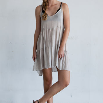 Jacklin Dress (heather grey)