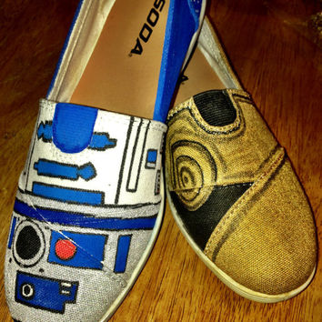 Star Wars Hand Painted shoes or any theme