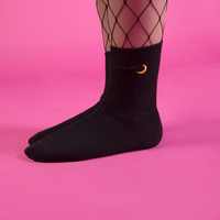 Crescent Moon Sock Set (Set of 2)