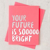The Social Type Bright Future Card
