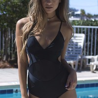 Oh My Goddess Black Mesh One Piece