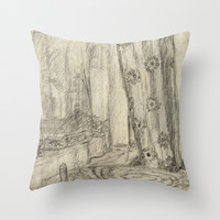 Good Afternoon Throw Pillow by StevenARTify