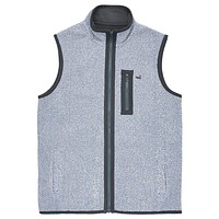 Highland Alpaca Vest in Washed Blue by Southern Marsh - FINAL SALE