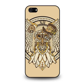 OWL STEAMPUNK iPhone 5 / 5S / SE Case Cover