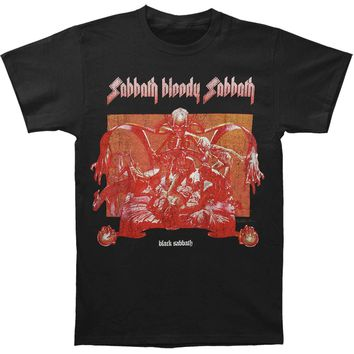 Black Sabbath Men's  Sabbath Bloody Sabbath T-shirt Black