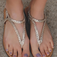 Braided Beauty Sandals