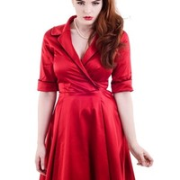 Roxie Rocks Dress Red
