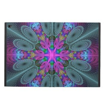 Mandala from the Center Colorful Fractal Art Powis iPad Air 2 Case