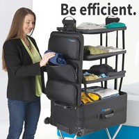 Save $50 in February on the Game-Changing Suitcase with Integrated Shelves!