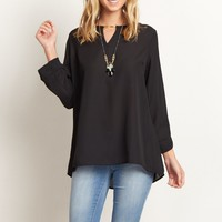 Black-Flowy-Blouse