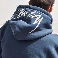 Stussy Stock Applique Hoodie Sweatshirt | Urban Outfitters