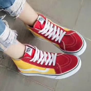Vans women fashion casual shoes