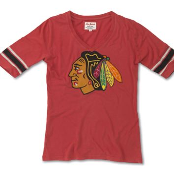 Chicago Blackhawks Womens Mahalo Tee By Red Jacket