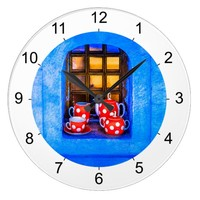 Tea Large Clock