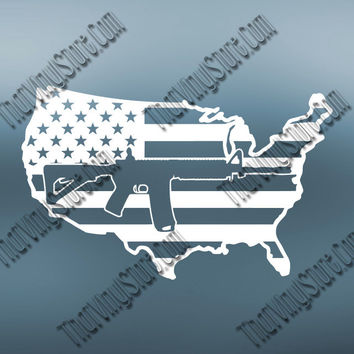Second Amendment | Gun Owner Decal | Gun Rights Activist Decal | Protect Our Rights Decal | 2nd Amendment Vinyl Decal For Car or Truck | 396